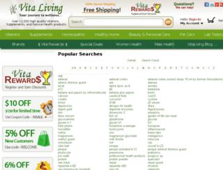 search.vitaliving.com screenshot