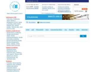 search.vse.cz screenshot