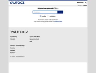 search.yauto.cz screenshot