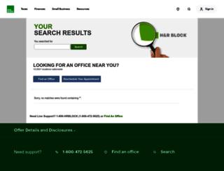 search3.hrblock.com screenshot