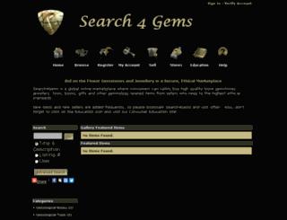 search4gems.com screenshot