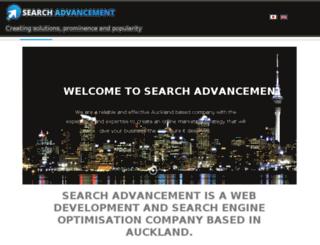searchadvancement.co.nz screenshot
