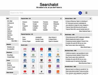 searchalot.com screenshot