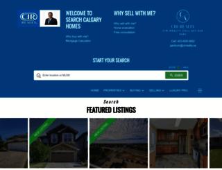 searchcalgaryhomes.ca screenshot