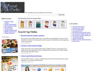 searchcigs.com screenshot