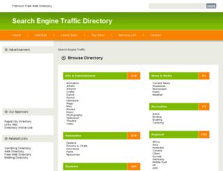 searchengine-traffic.com screenshot