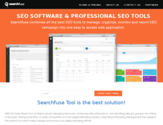 searchfuse.com screenshot