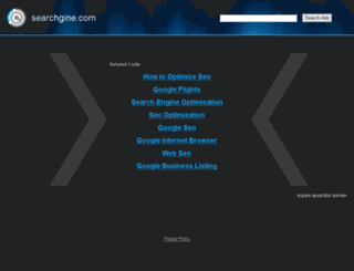searchgine.com screenshot