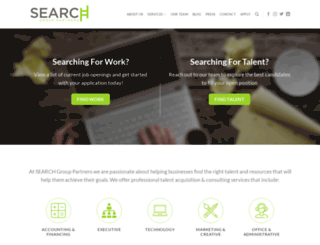 searchgrouppartners.com screenshot