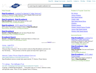 searchguide.bajabroadband.net screenshot