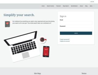 searchhomesinchicagoland.com screenshot