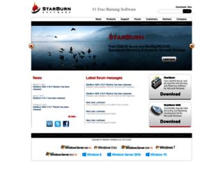 searching.starburnsoftware.com screenshot