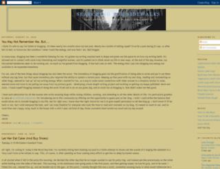 searchingforsidewalks.blogspot.com screenshot