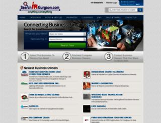 searchingurgaon.com screenshot