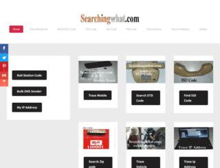 searchingwhat.com screenshot