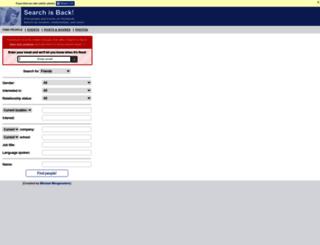 searchisback.com screenshot
