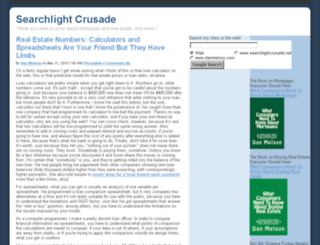 searchlightcrusade.net screenshot