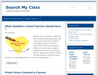 searchmyclass.in screenshot