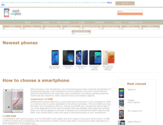 searchnewphone.com screenshot