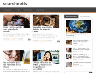 searchnotis.in screenshot