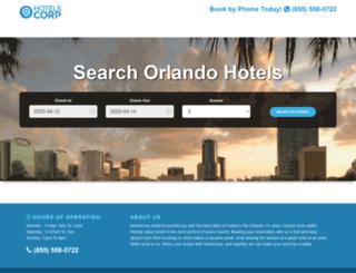 searchorlando.hotelscorp.com screenshot
