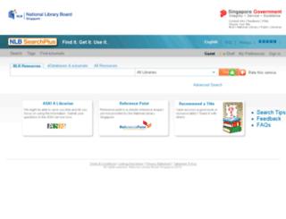 searchplus.nlb.gov.sg screenshot