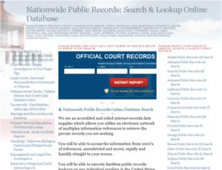 searchpublicrecords.blogspot.ca screenshot