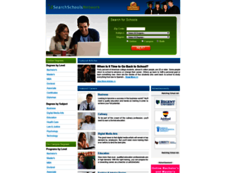 searchschoolsnetwork.com screenshot