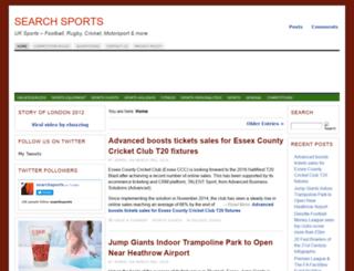 searchsports.co.uk screenshot