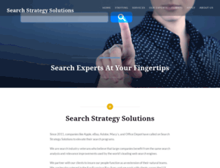 searchstrategysolutions.com screenshot