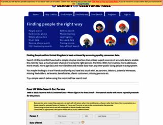 searchukelectoralroll.com screenshot
