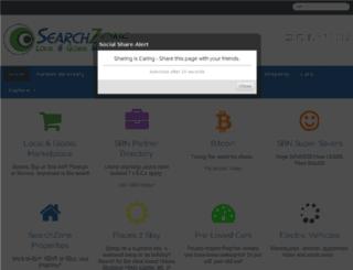 searchzone.co.za screenshot