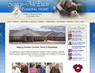 searcymceuen.funeralplan2.com screenshot