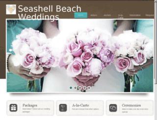 seashellweddings.net screenshot