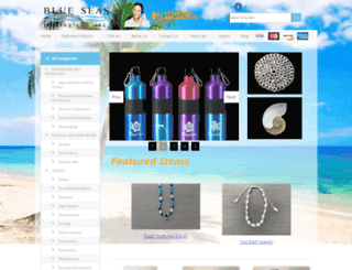 seashellworld.com screenshot