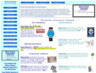 seasicknessrelief.com screenshot