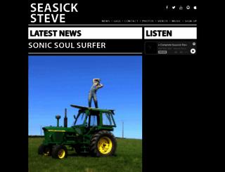 seasicksteve.com screenshot
