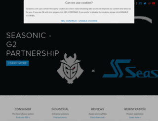 seasonicusa.com screenshot