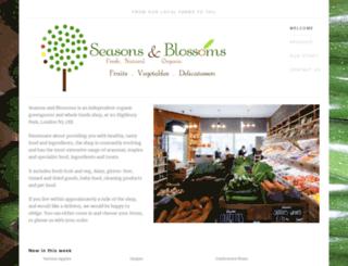 seasonsandblossoms.com screenshot