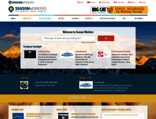 seasonworkers.com screenshot
