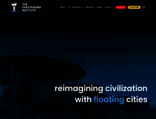 seasteading.org screenshot