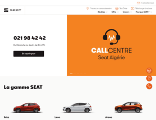 seat.dz screenshot