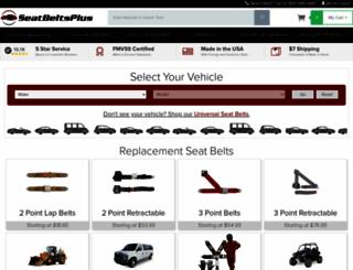 seatbeltsplus.com screenshot