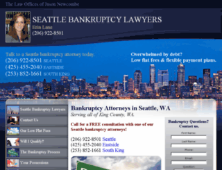 seattle-bankruptcy-lawyers.com screenshot