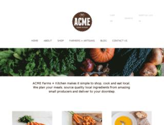 seattle.acmefarmsandkitchen.com screenshot