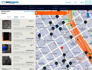 seattle.bestparking.com screenshot