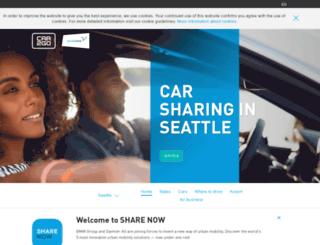 seattle.car2go.com screenshot