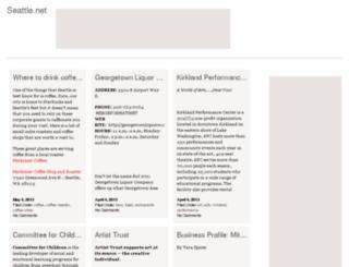 seattle.net screenshot