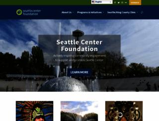 seattlecenter.org screenshot