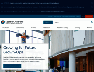 seattlechildrens.org screenshot